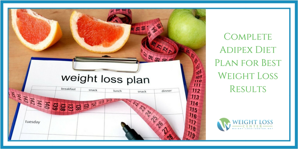 Complete Adipex Diet Plan for Best Weight Loss Results
