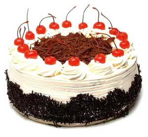 The Birthday Cake was a blackforest, just like this one. Can you blame me?