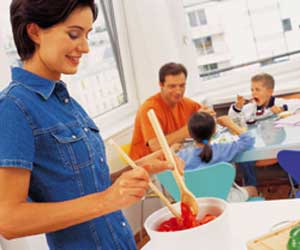 Preparing healthy, lower-calorie meals for the whole family be challenging, but also very rewarding.