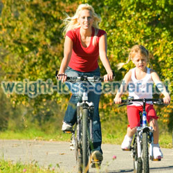 Making healthy lifestyle changes as a family helps everyone to become healthier together.