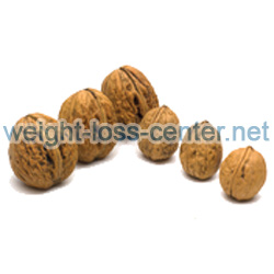 Walnuts contain omega-3 fatty acids and fiber that makes them a food that helps stabilize blood sugar levels.