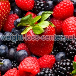 Eating foods that are high in antioxidants, such as berries, will not only help you to lose weight, but will make you feel and look younger.