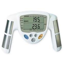 There are a number of weight loss gadgets, such as a body fat monitor shown here, that can help you track you success and keep you motivated.